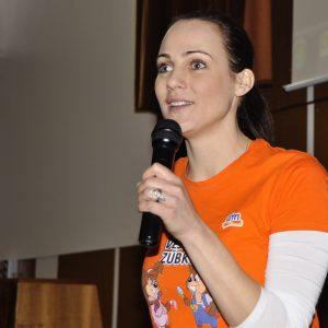 Veselé zúbky - náučno-zábavné podujatie pre deti - moderátorka Adriana Poláková (marec 2013)