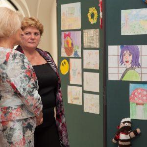 Výstava výtvarných prác detí hospitalizovaných v DFNsP Bratislava (september 2013)