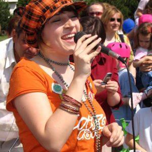 Víťazka prvej slovenskej Superstar Katka Koščová (MDD 2005)
