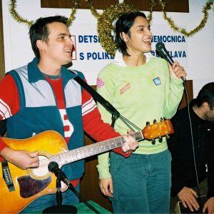 Na Mikuláša prišla zaspievať Jana Kirschner (Mikuláš 2004)