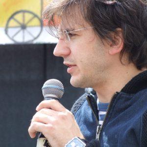 Juraj Mokrý si vyskúšal moderovanie (MDD 2009)
