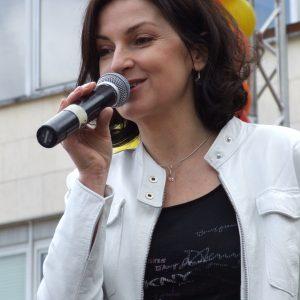 Speváčka Beáta Dubasová (MDD 2009)