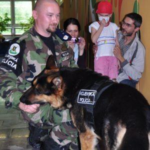 Ukážka práce psovodov vojenskej polície - MDD 2010