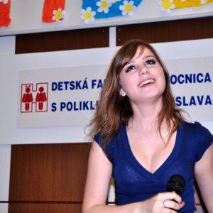 Dominika Stará opäť medzi deťmi - MDD 2010