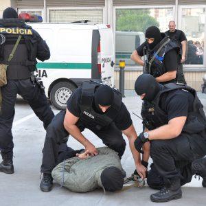 Ukážka práce členov policajného zboru - oslavy MDD 2011