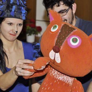 Sladký Leonardo - muzikálové predstavenie o rozmaznanom kocúrovi (marec 2013)