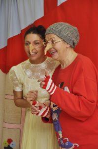 Dve dobré ježibaby - herečky Gabriela mama a Gabriela dcéra Csinové.