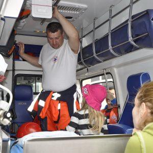 Stretnutie detí s hasičmi a záchranármi - MDD 2014